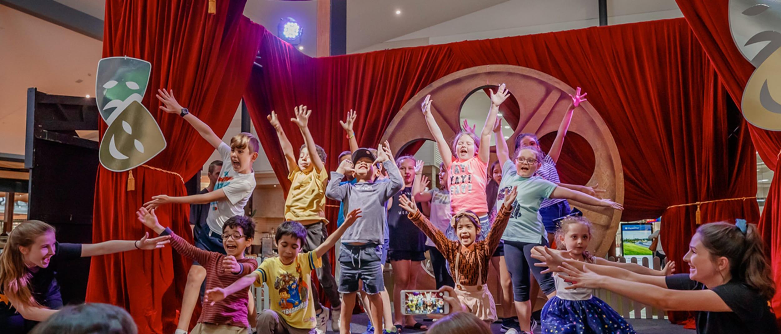 Free kids drama workshops