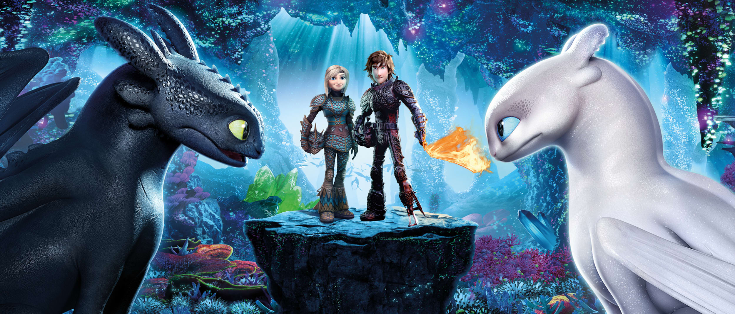 How To Train Your Dragon: Hidden World craft zone