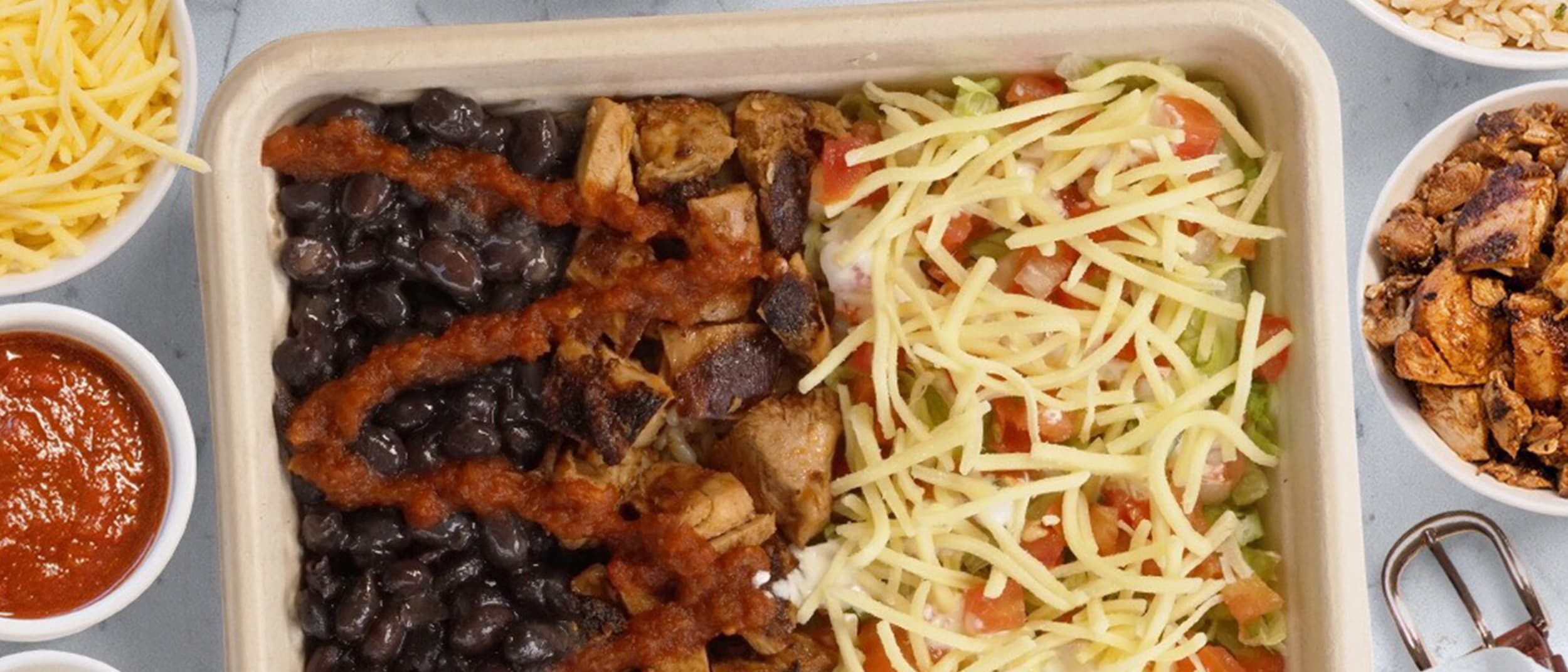 Mad Mex Naked Burrito: your New Year's resolution