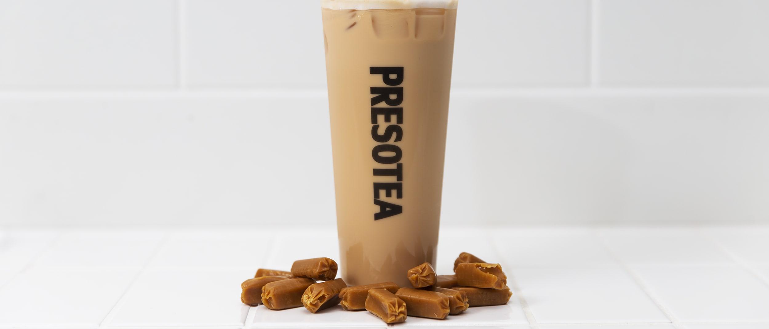 Presotea: new toffee tea range now available