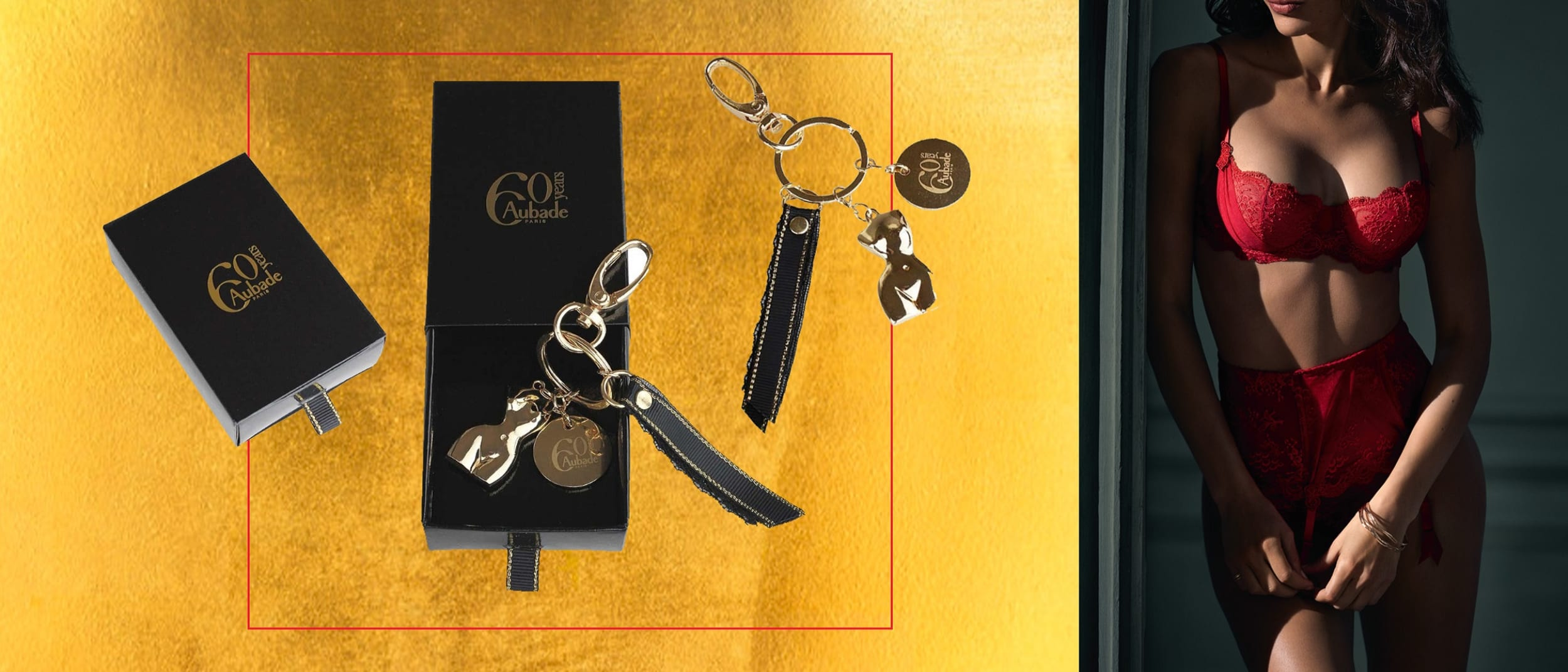 IM Lingerie: Aubade Paris keyring gift with purchase