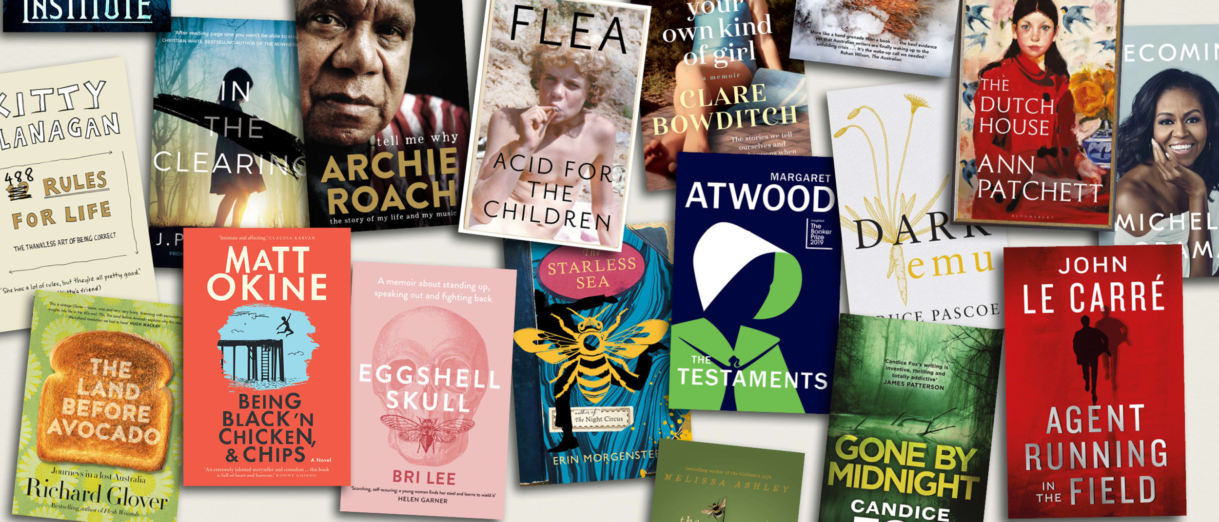 Dymocks: 50 books we can't stop talking about promo