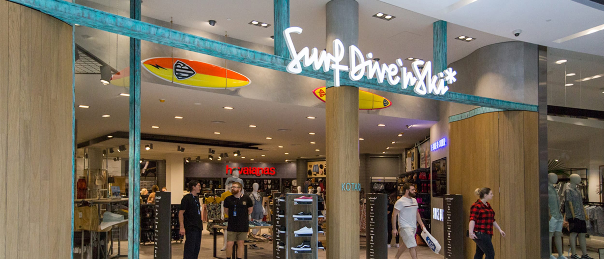 Surf Dive n Ski new store now open