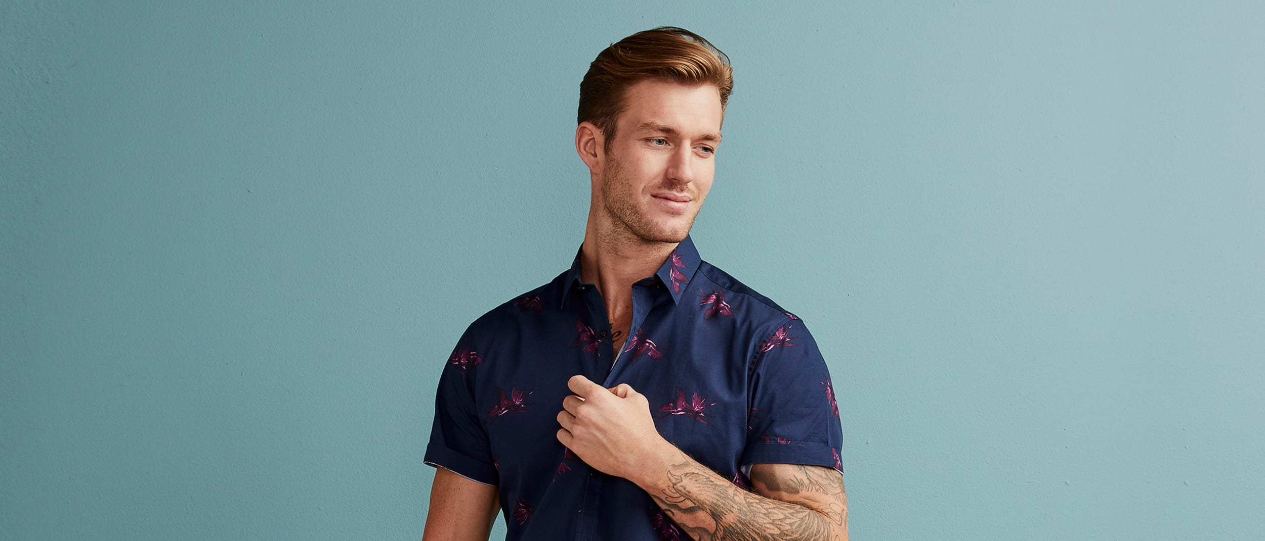 Connor: 30% off short sleeve shirts