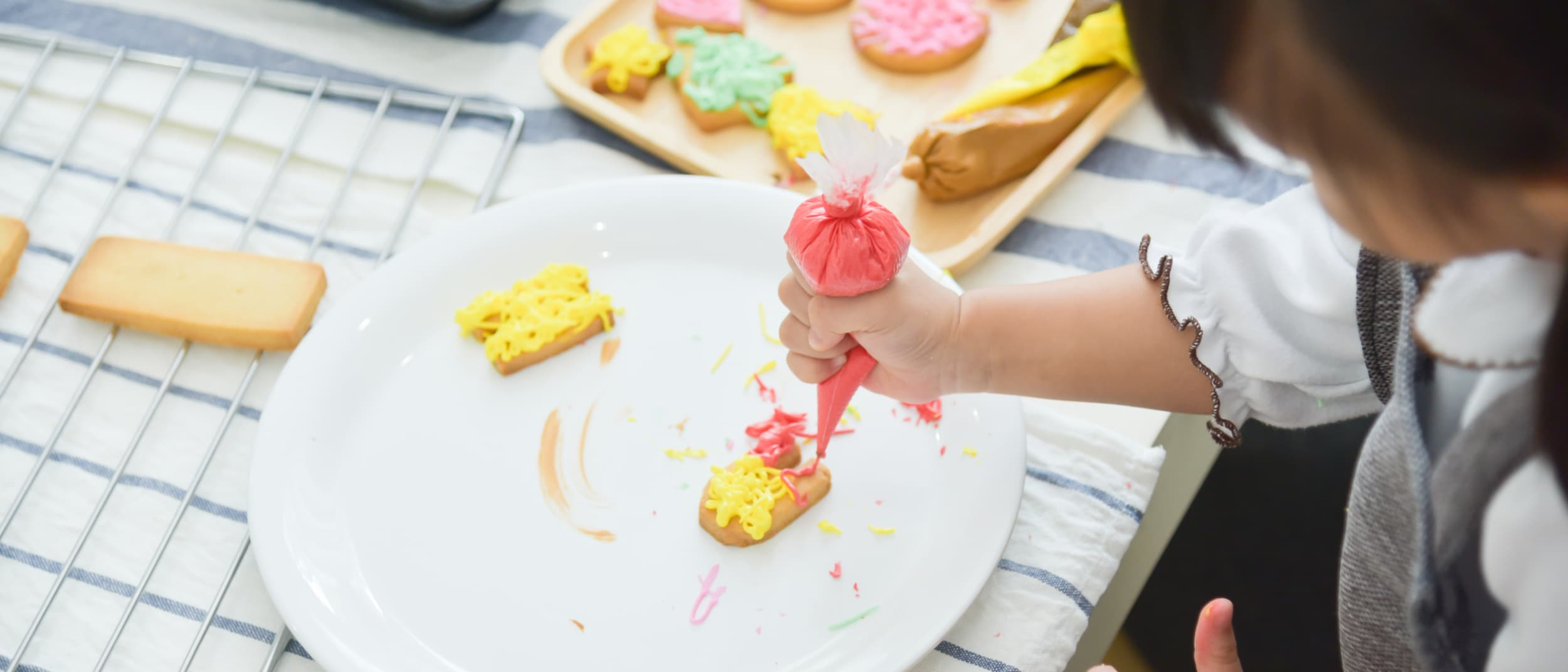 Taste.Shop.Play Smiley Face Cookie Decorating