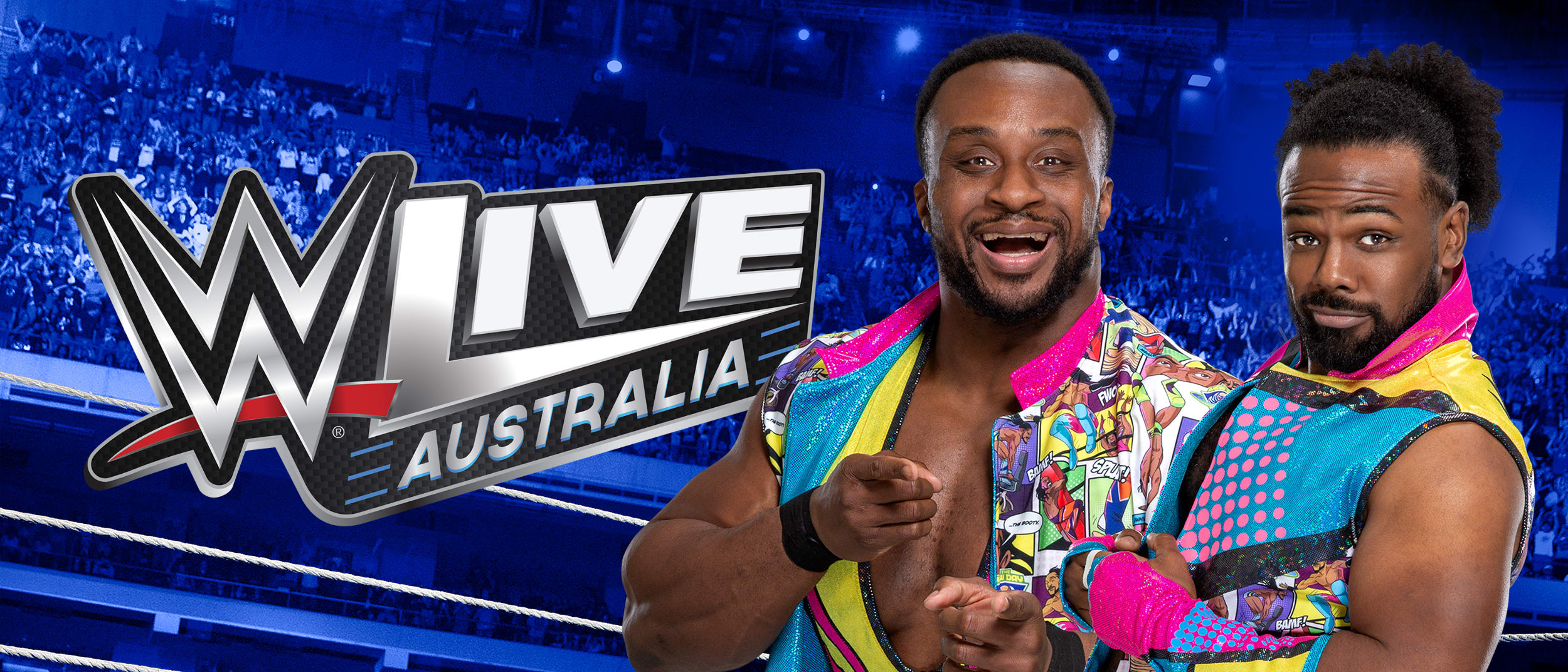 WWE Superstars Big E and Xavier Woods live appearance