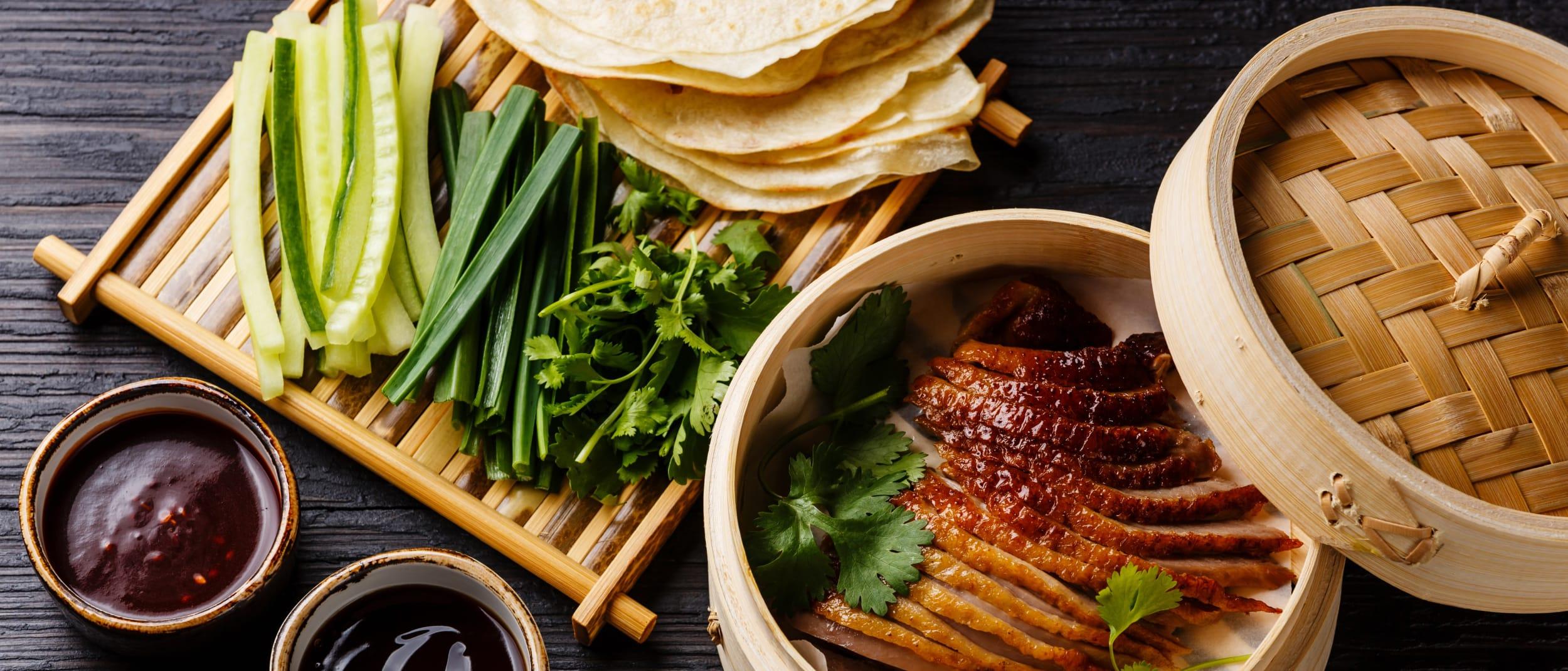Joyful House: Dinner Special Peking Duck Pancakes