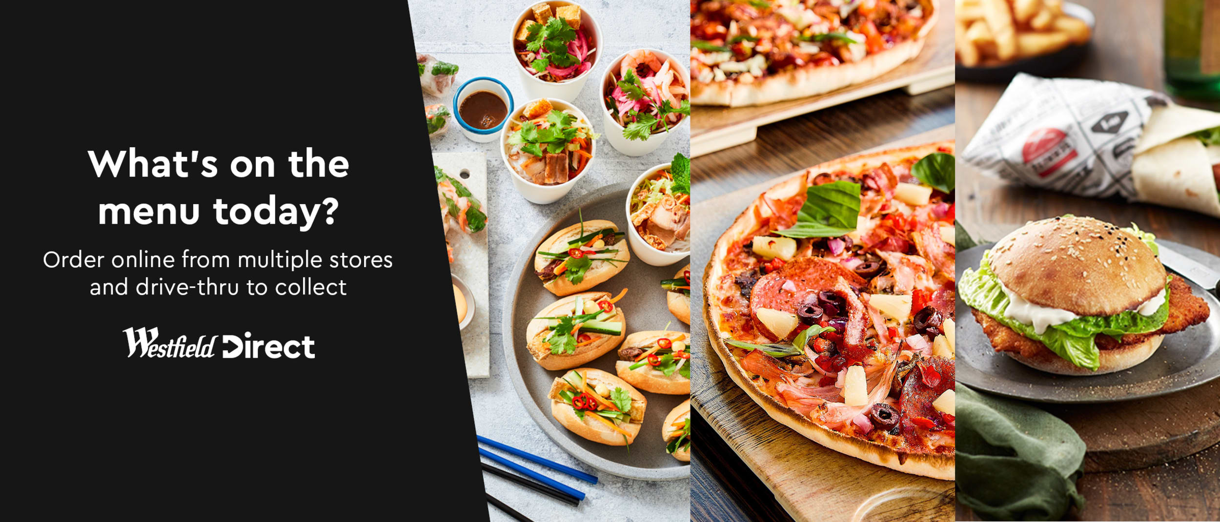 Your favourite food and essentials available via Click & Collect