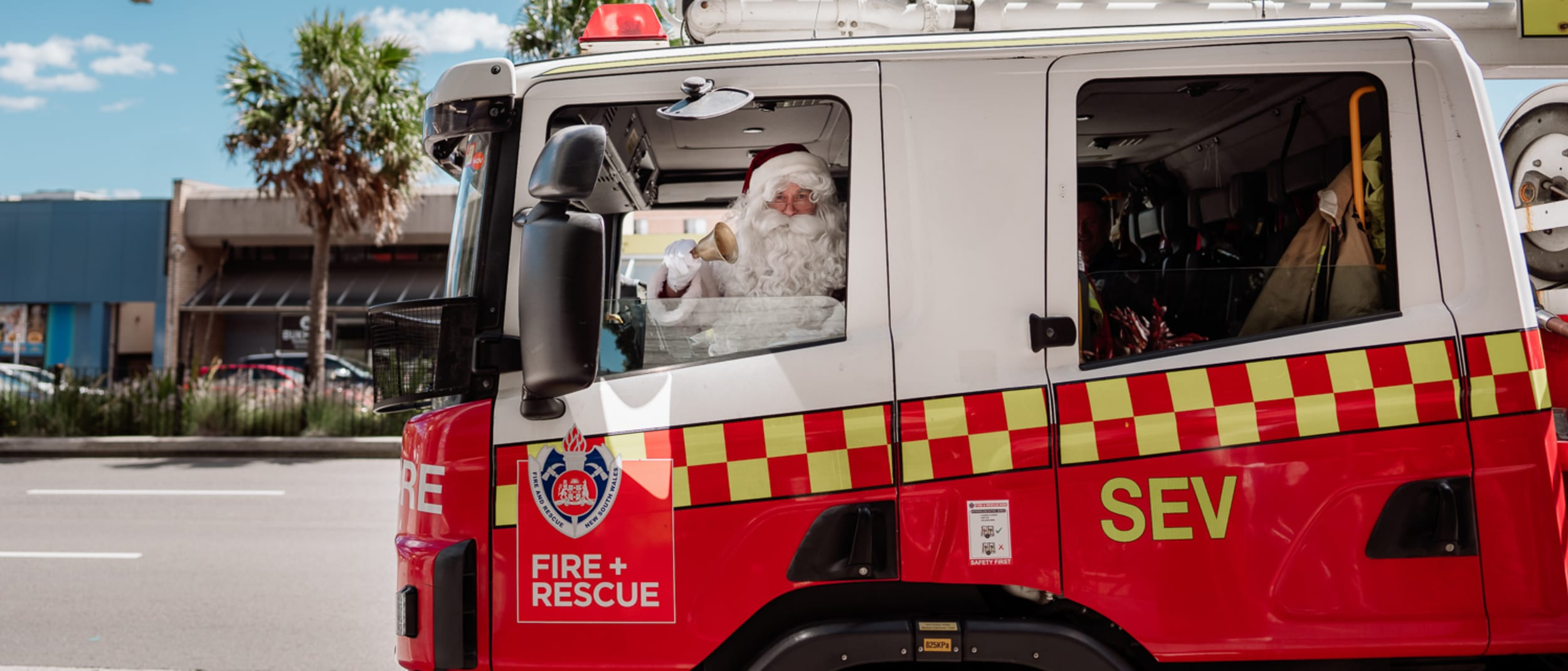 Santa has arrived (with bells on) at Westfield Miranda!