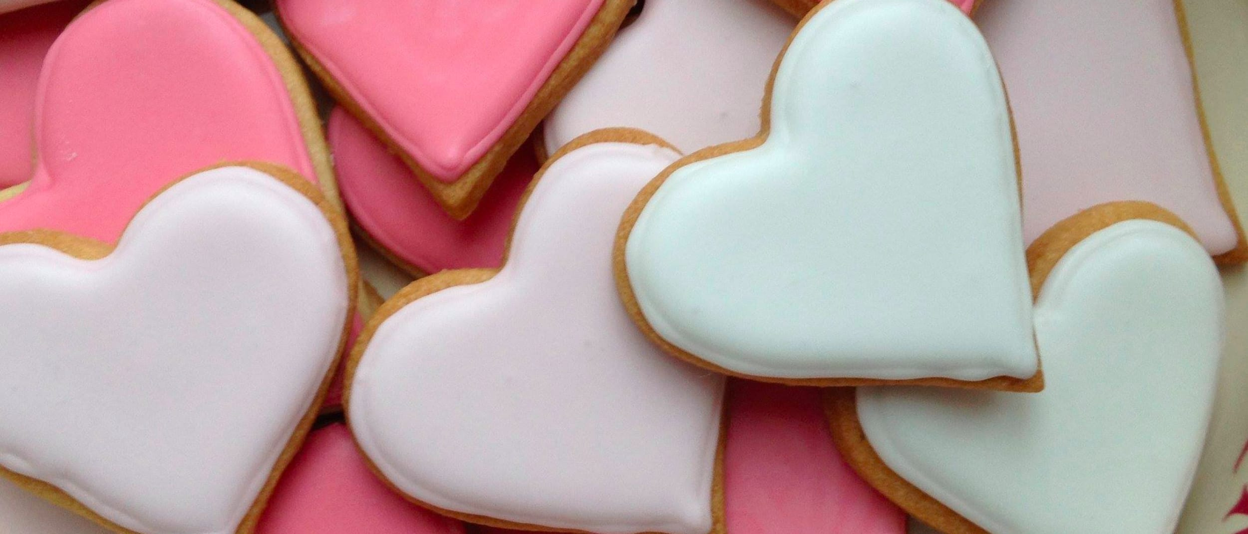 With love from Westfield - enjoy a Valentine's Day cookie on us!