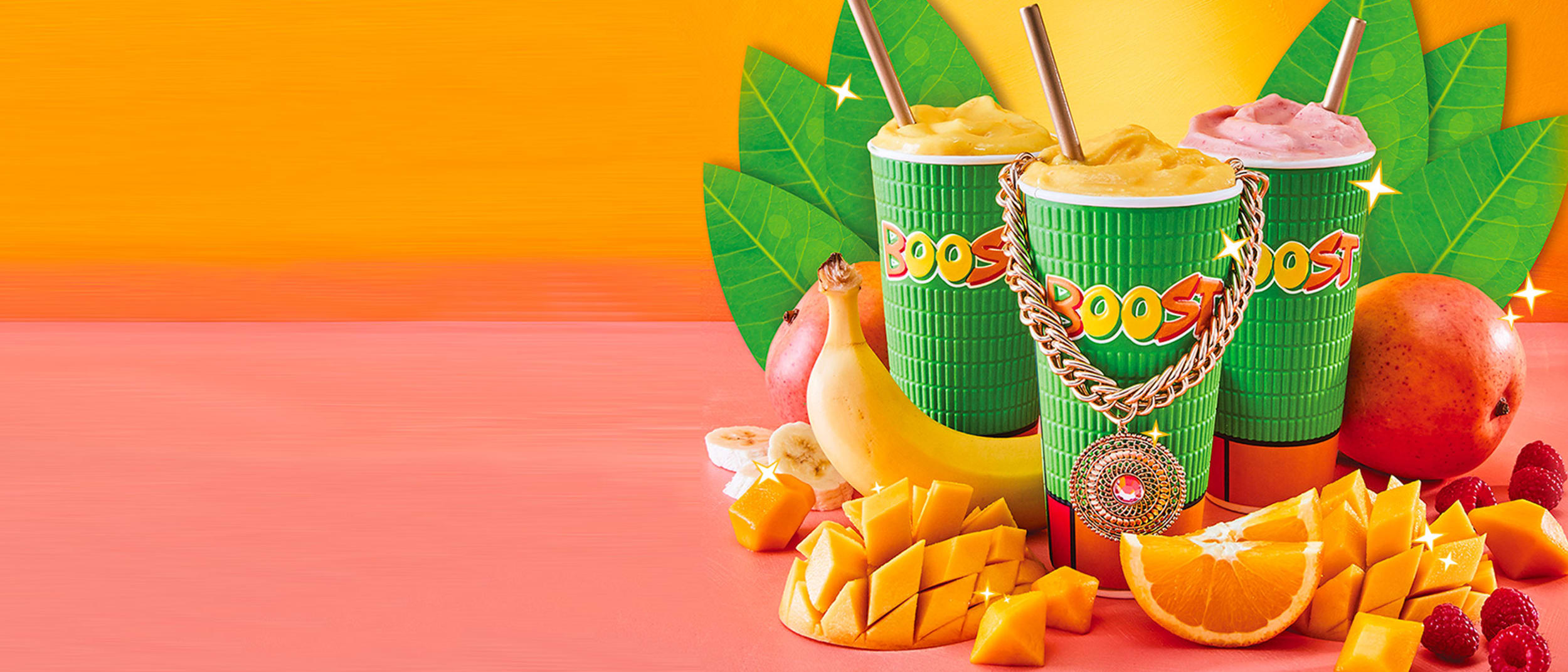 Boost Juice: mango king of fruits