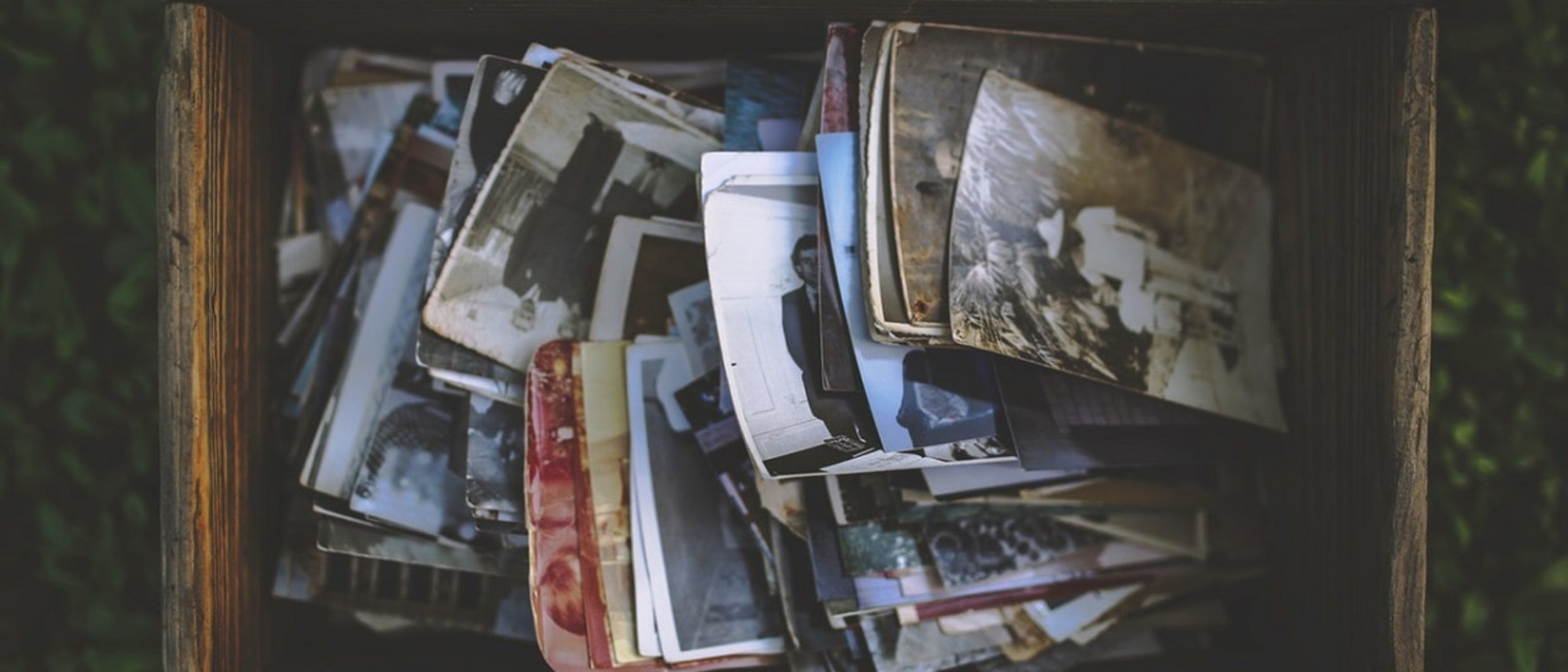 Dating old photos and caring for them at Garden City Library