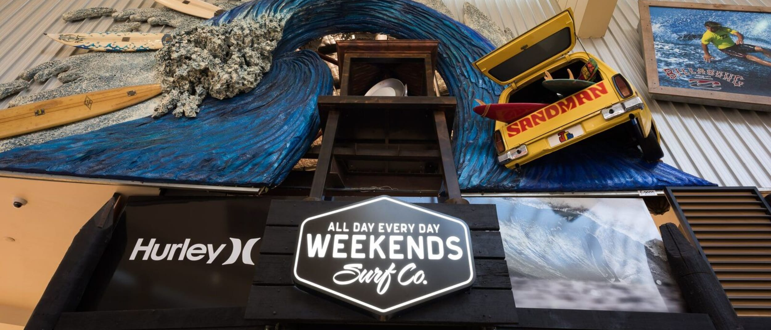 Westfield Marion's iconic surf store has a new identity