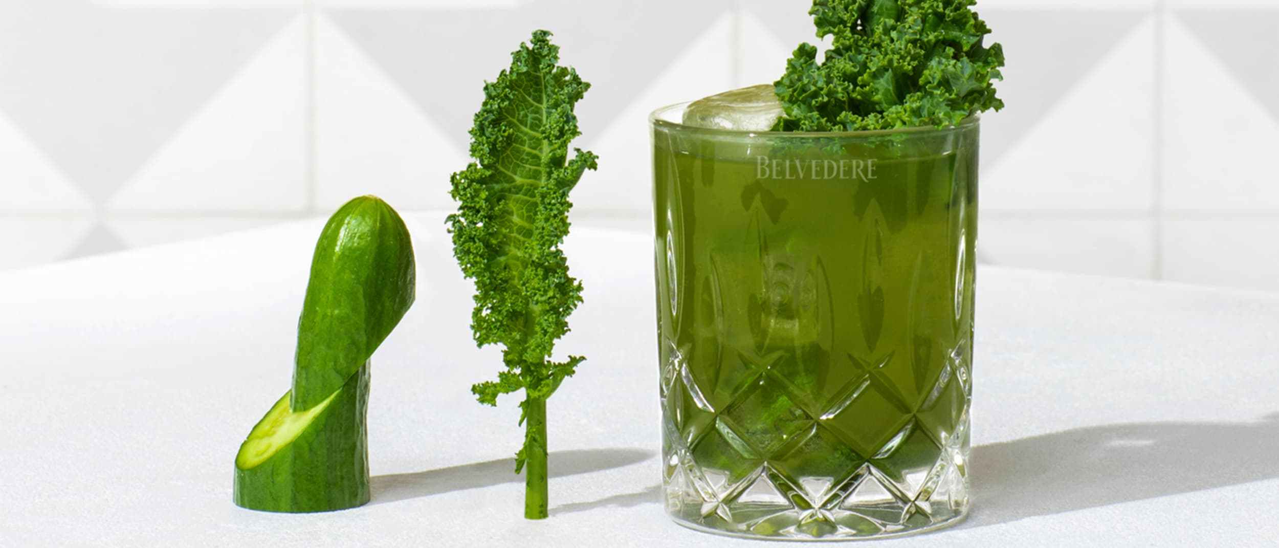 Recipe: Belvedere Super Kale Cocktail