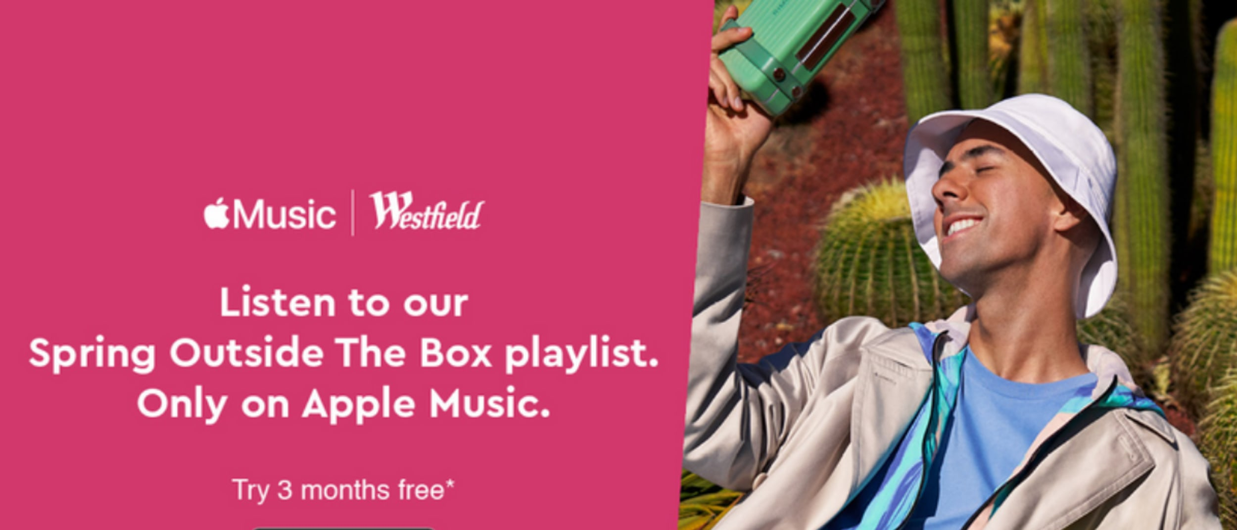 Discover our Spring Outside the Box playlist on Apple Music
