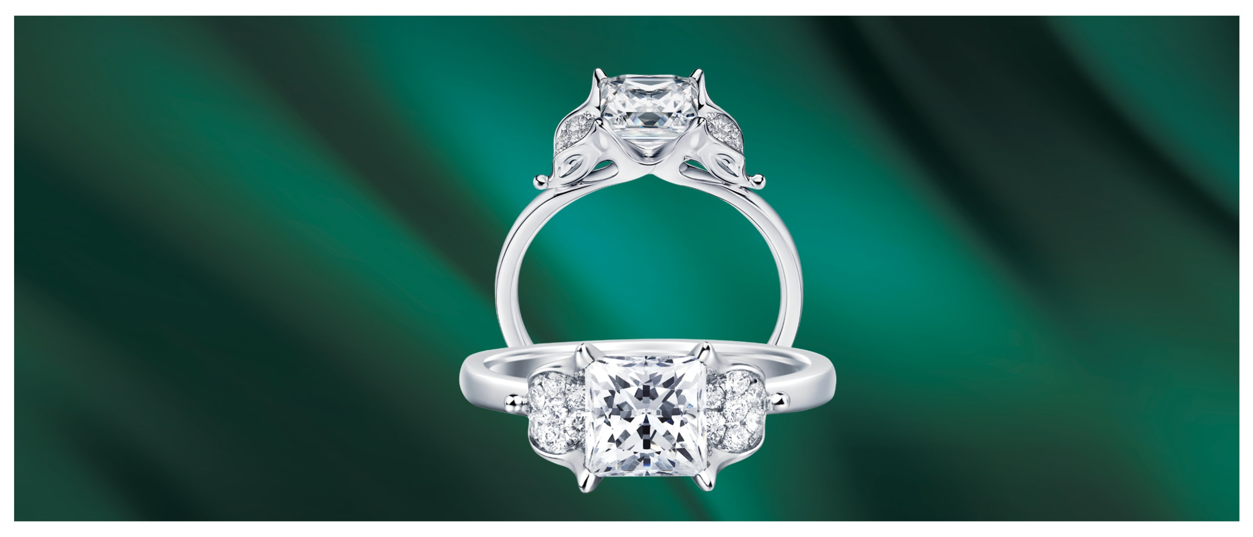 Golston: purchase 1Ct diamond ring and get a free wedding gown