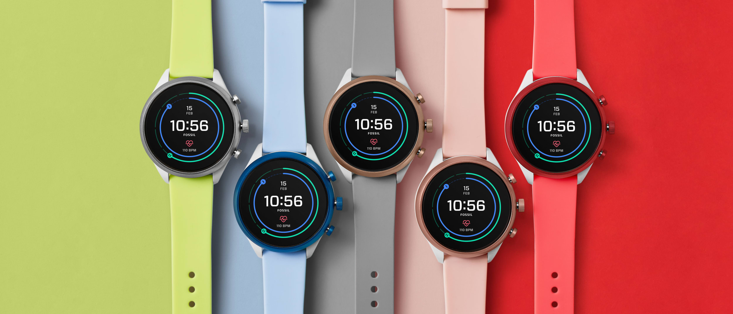 New Fossil sport smartwatch available now
