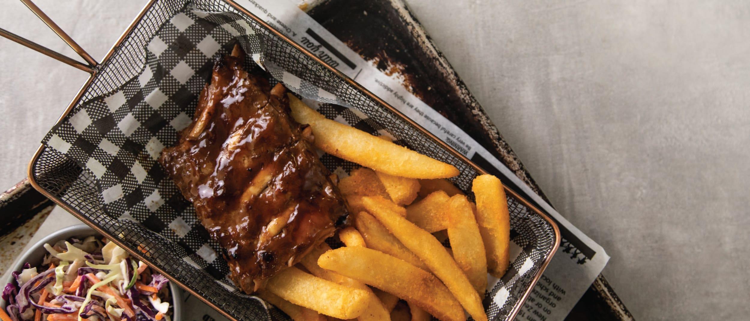 Bucking Bull's NEW Smoky BBQ Pork Ribs