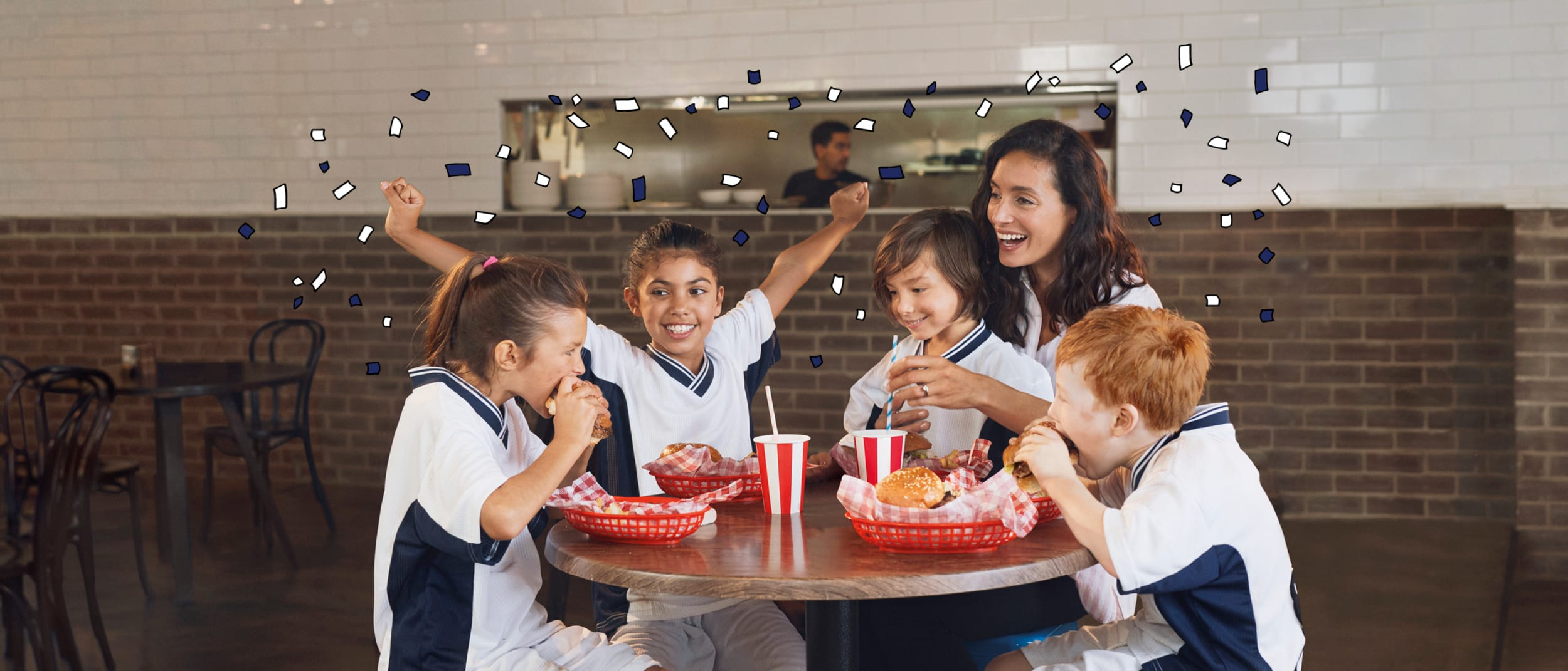 The Westfield Riccarton Food Court Grand Re-opening