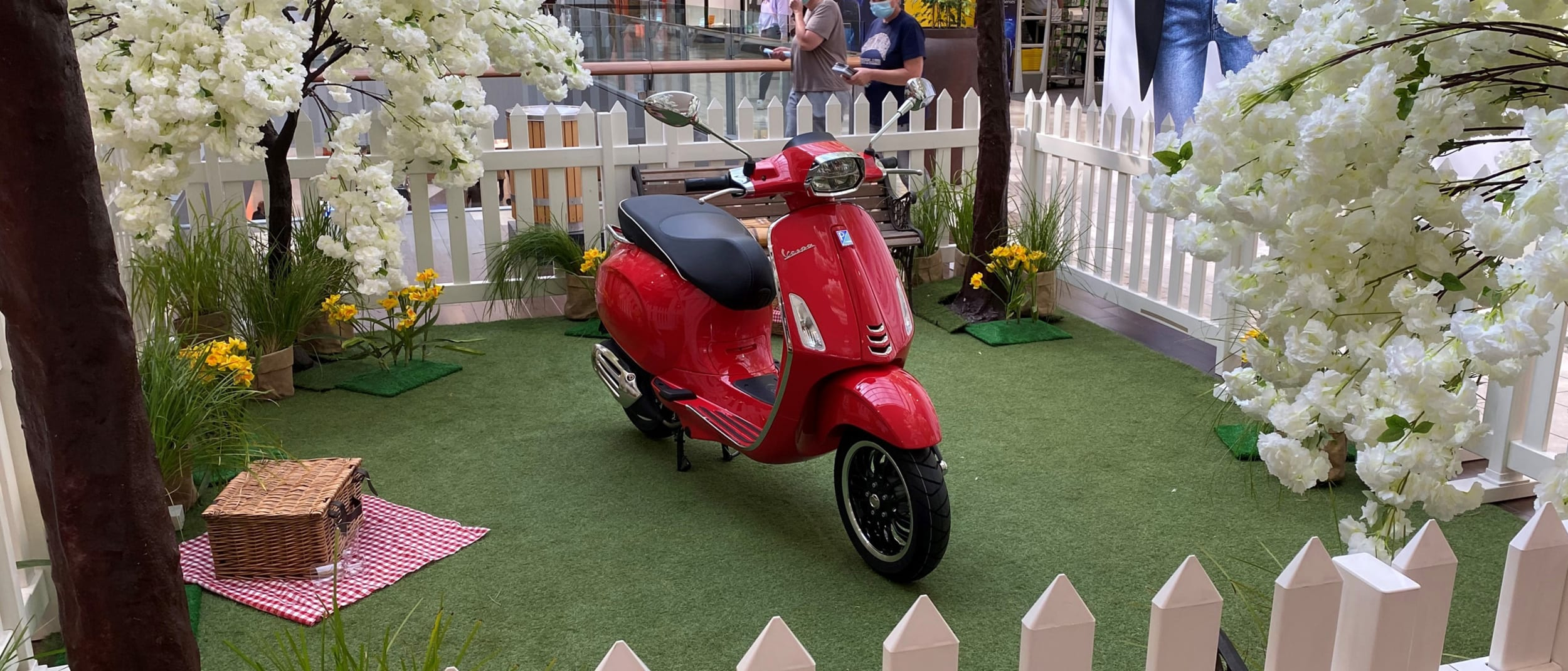 Be in to win* a new Vespa for Spring