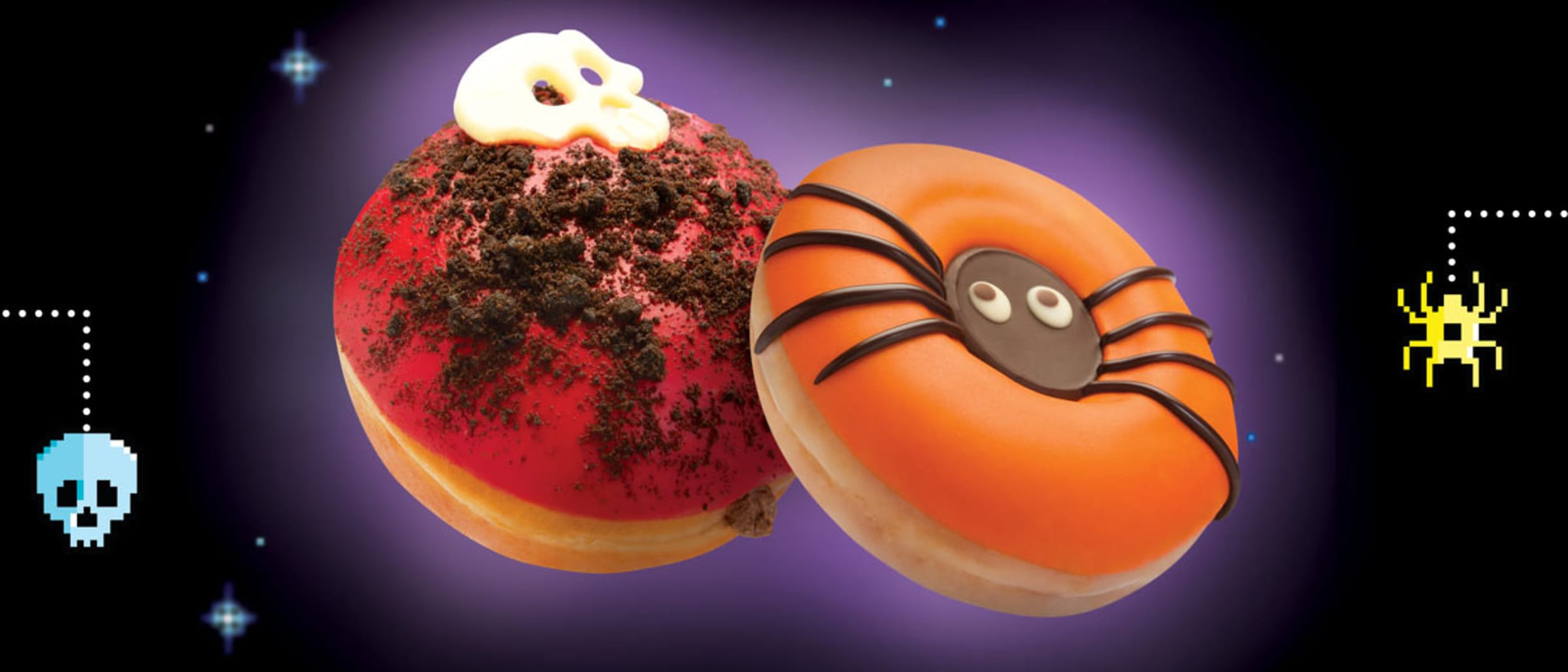 Halloween: Doughnut decorating with Krispy Kreme