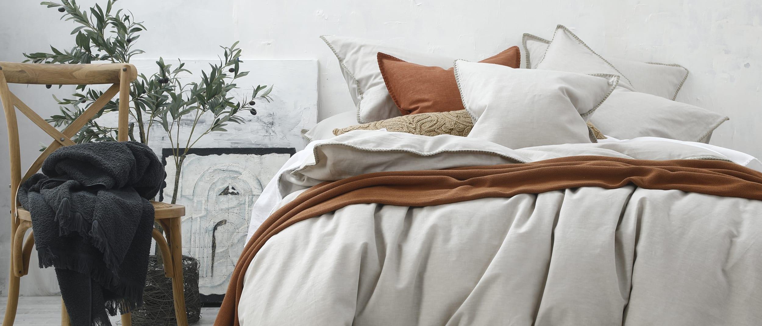 M.M Linen: Stitch linen cotton range 30% off* full range