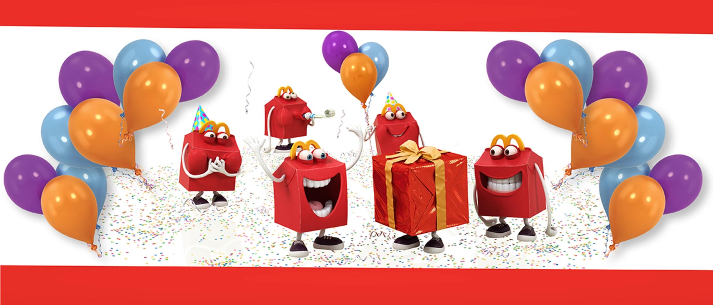 Taste. Shop. Play |  McDonald's Birthday Party
