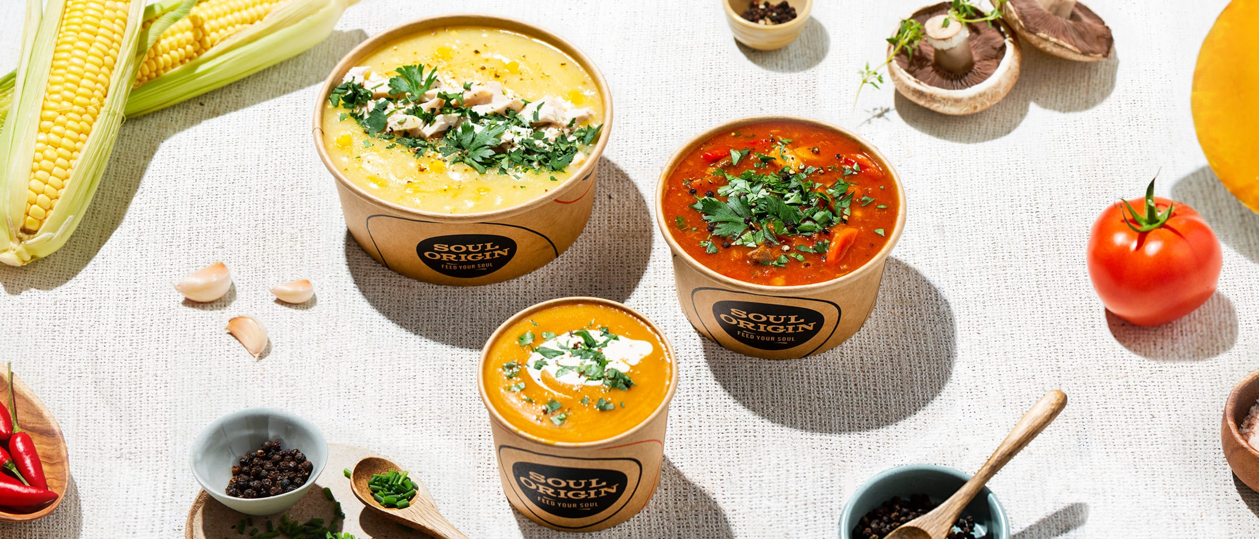 Soul Origin's launches new soups range