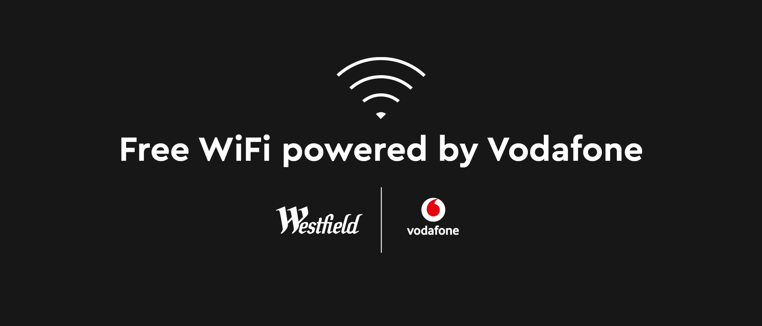 FREE WiFi now available at Westfield Albany