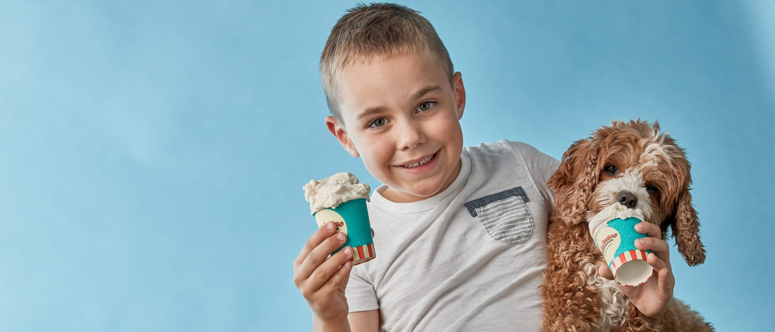Share a treat with your four legged friend at Gelatissimo