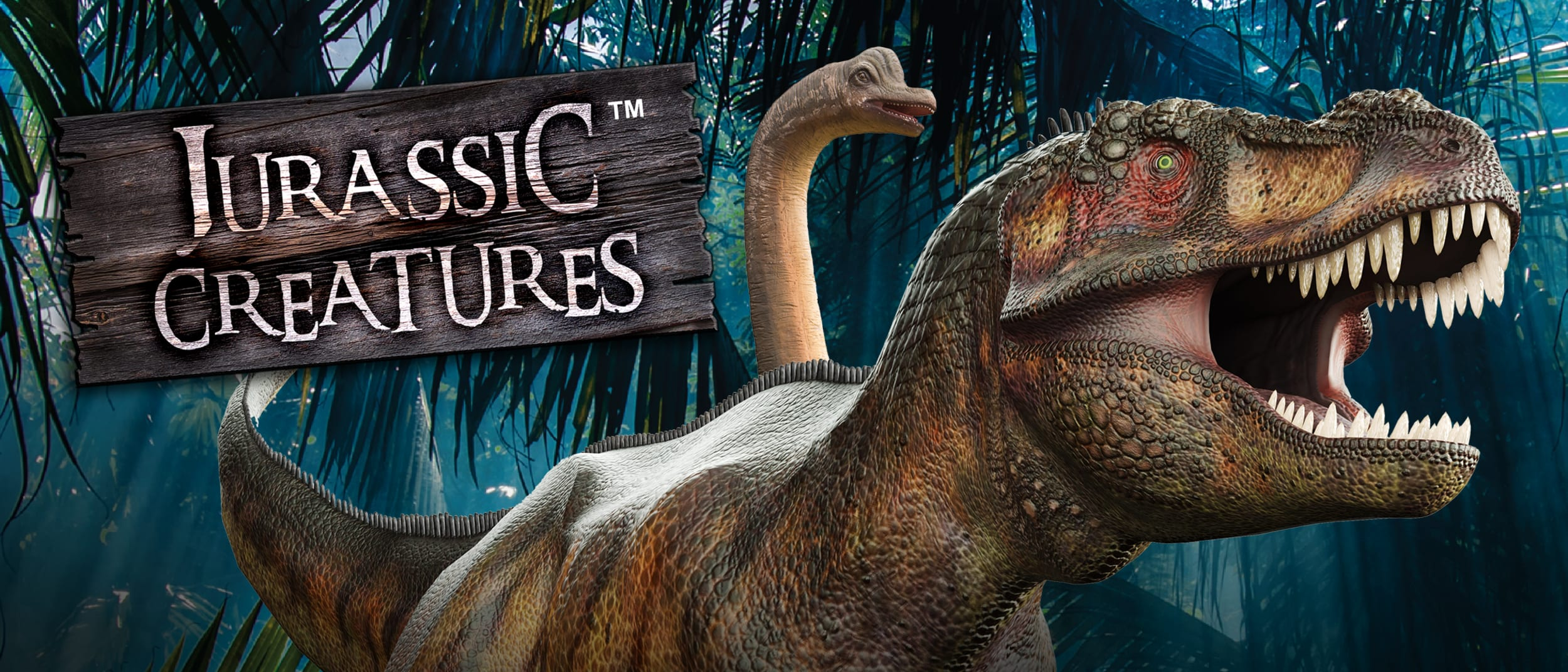 Win a family pass to the Jurassic Creatures Exhibition