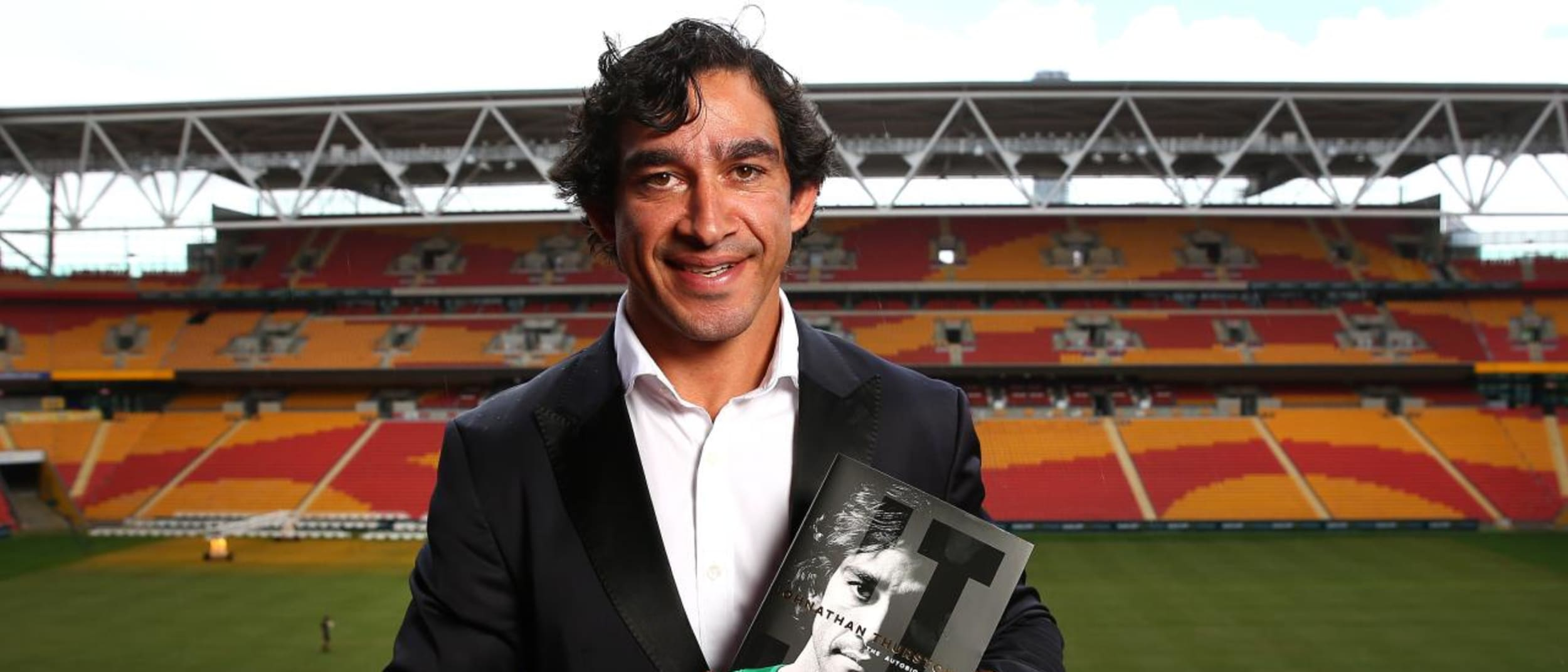 Johnathan Thurston book signing in Centre Court