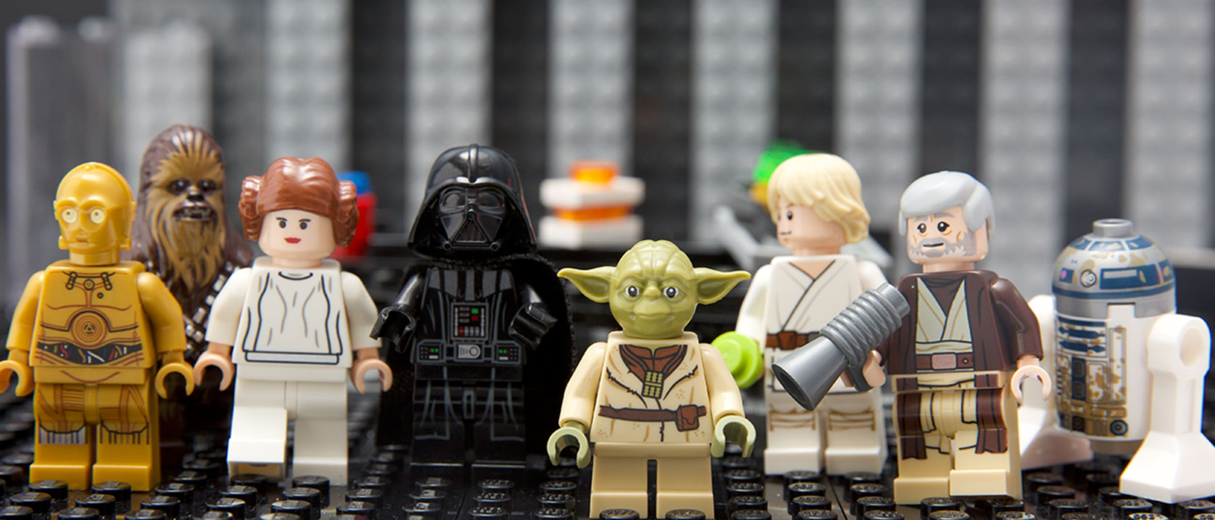 Join in the world's largest LEGO Star Wars unboxing