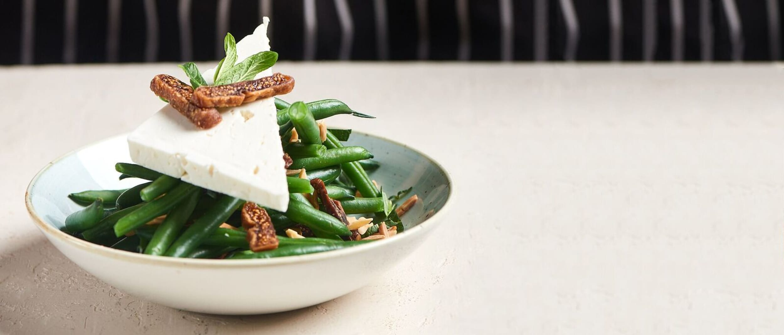 The Green Bean Salad is back for spring at Zeus!