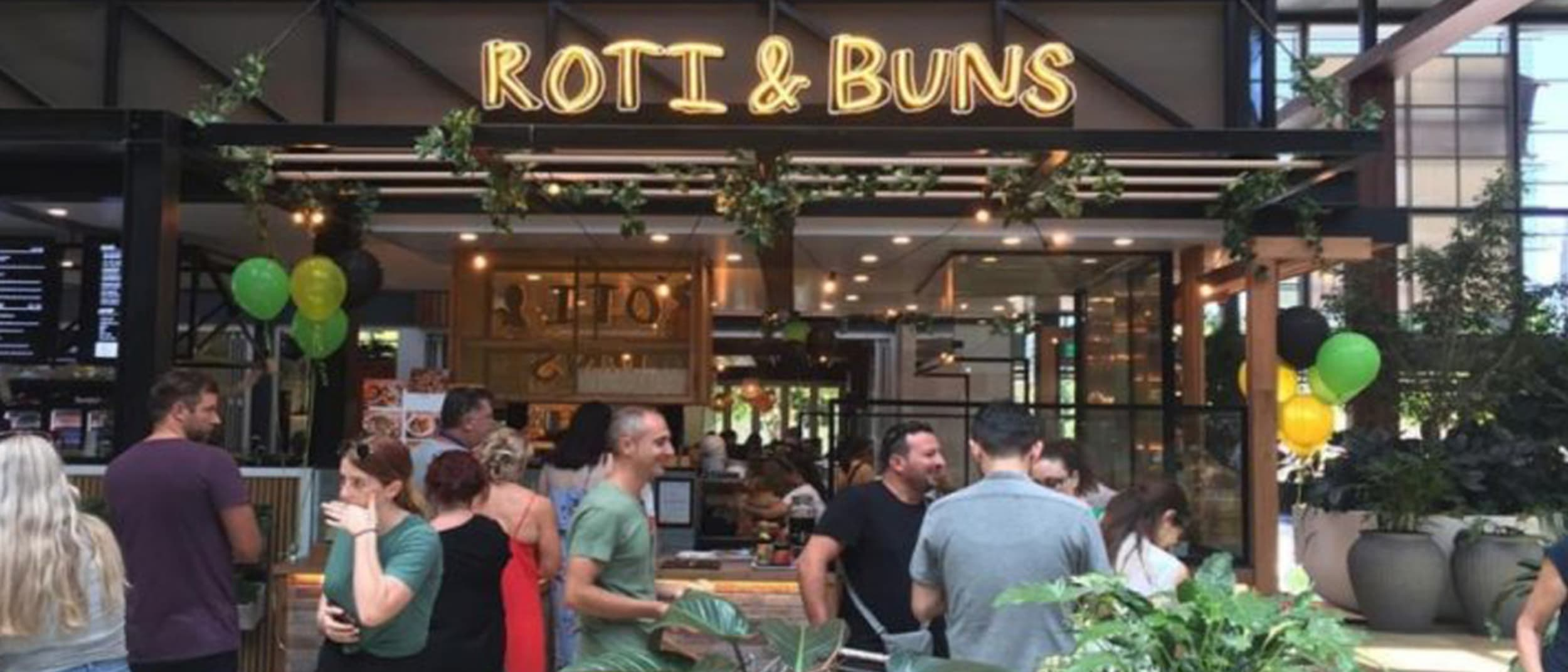 Roti & Buns is open for business!