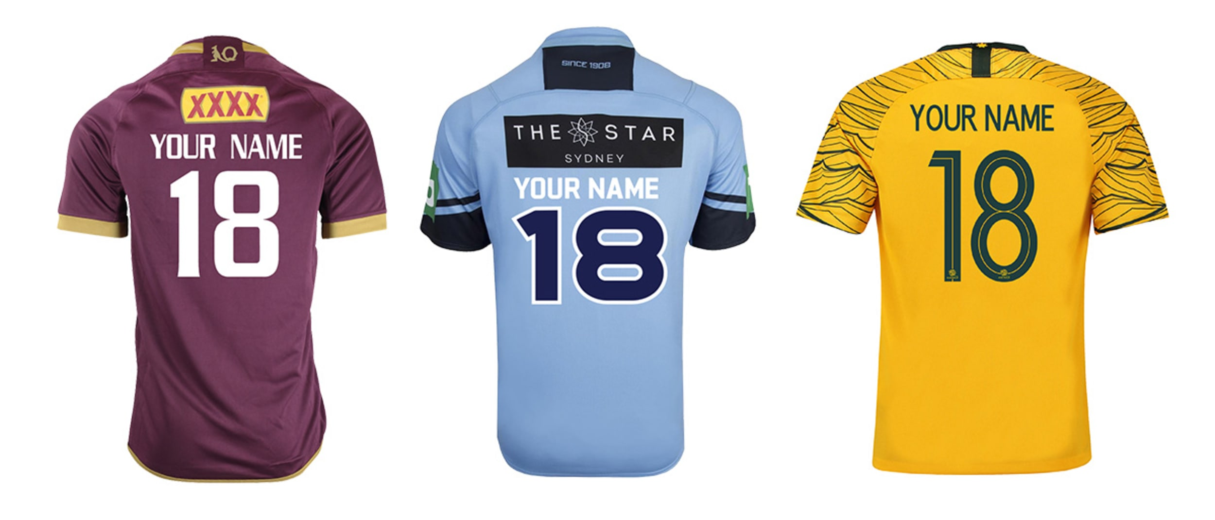 Rebel: Personalise your favourite jersey