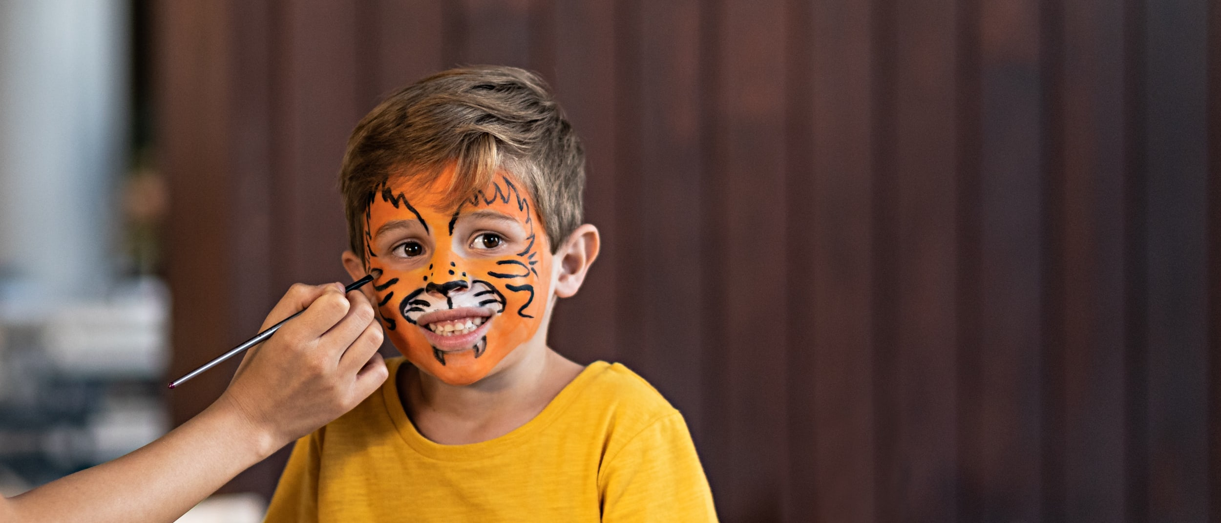 Set your spirit animal free with complimentary face painting