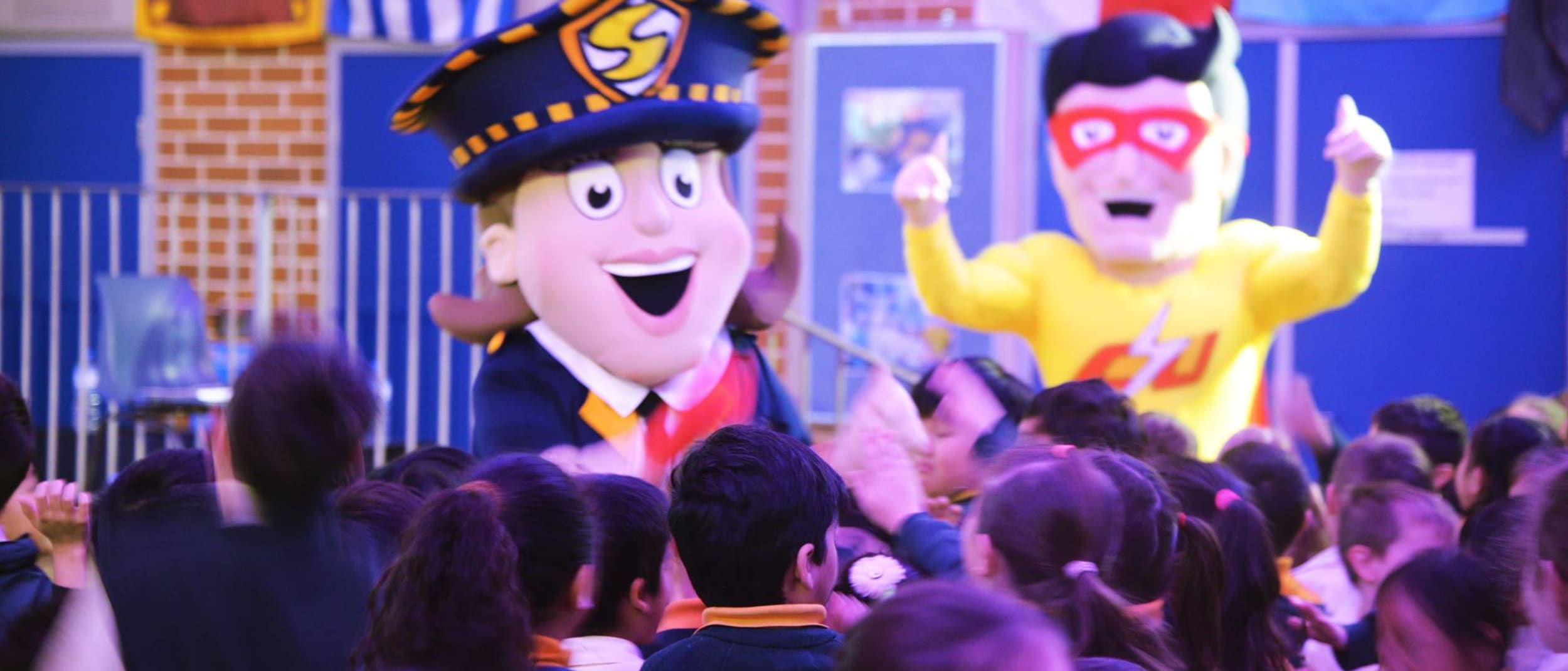 Super Safe Sally and Captain Clean up are coming to Burwood