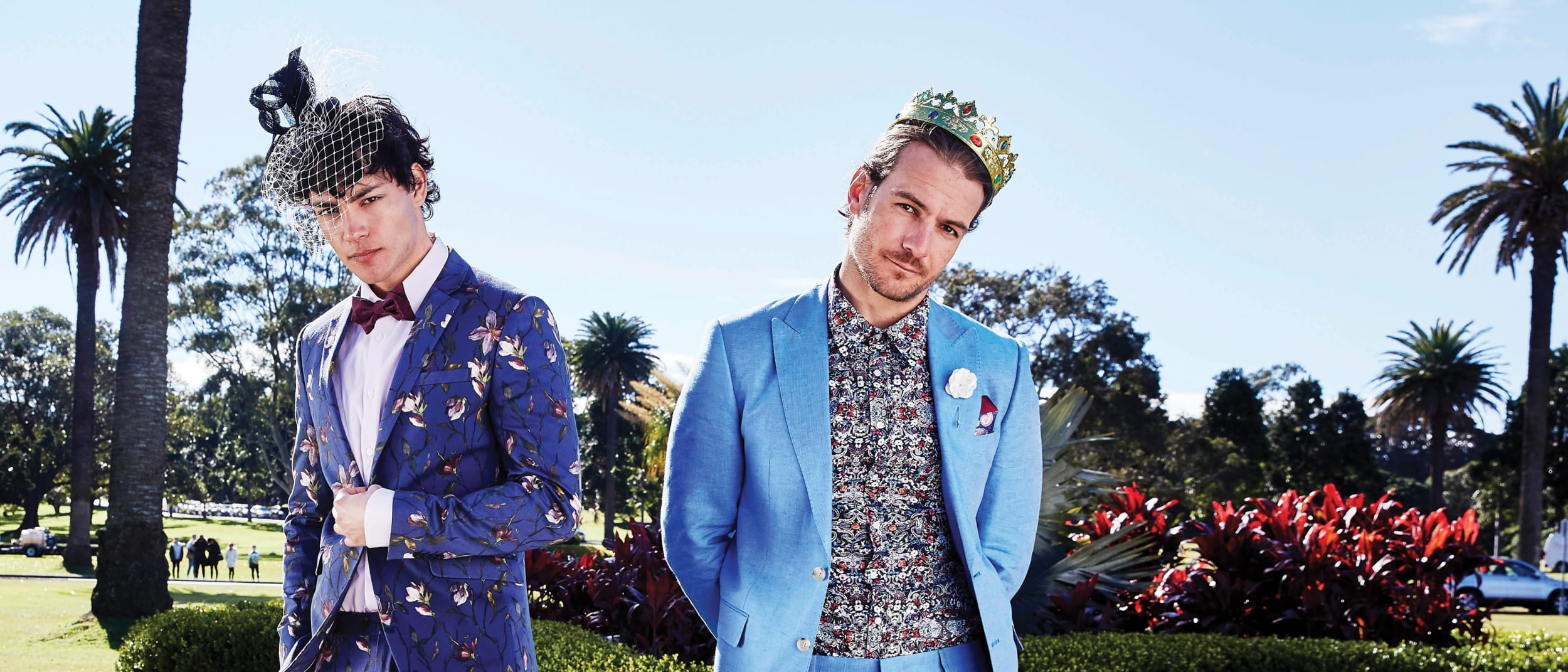 Suit up with new men's spring racing trends