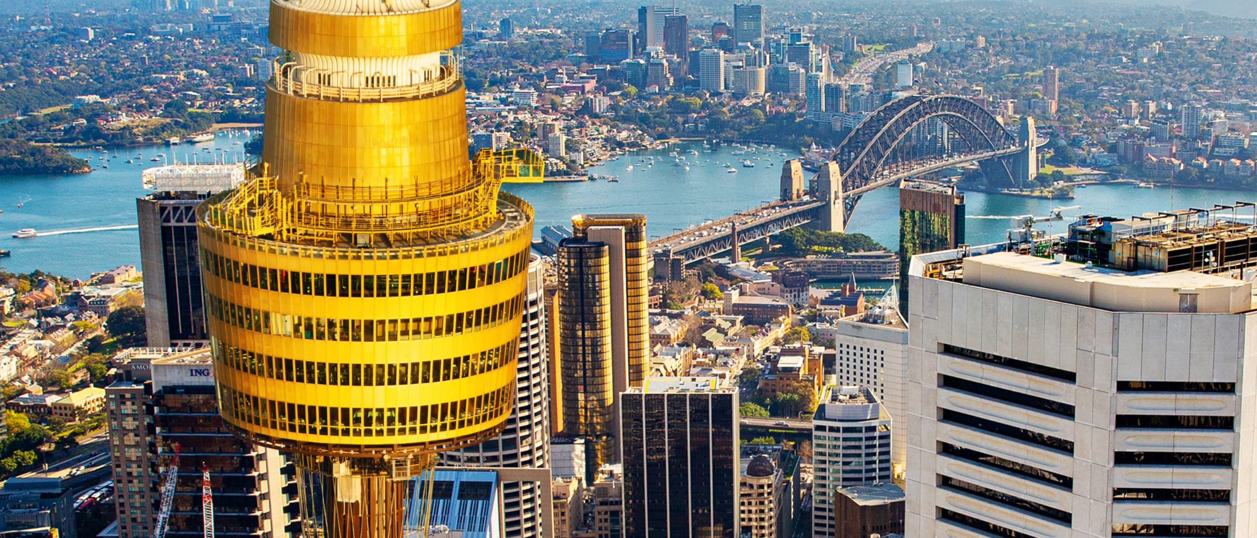 Sydney Tower Eye: Welcomes you back