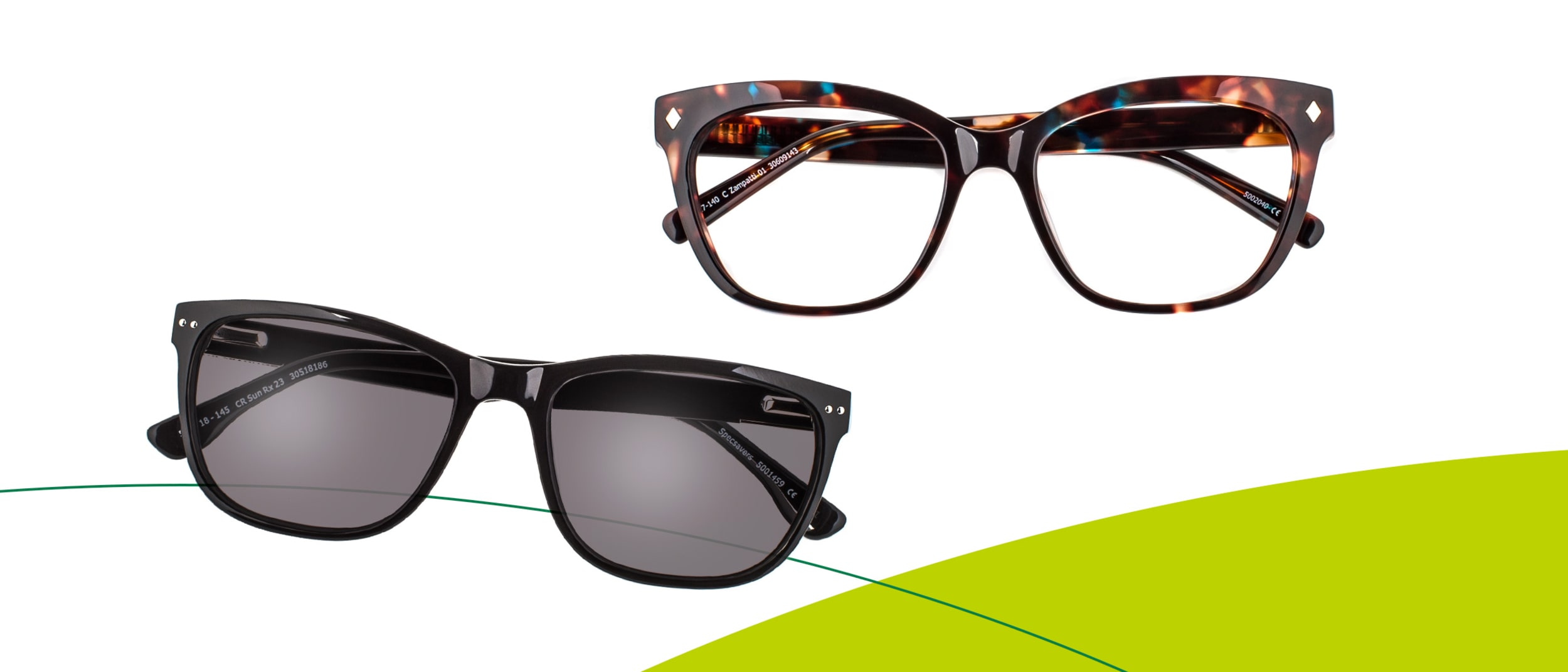 Specsavers: 2 styles, for no or low out of pocket expense