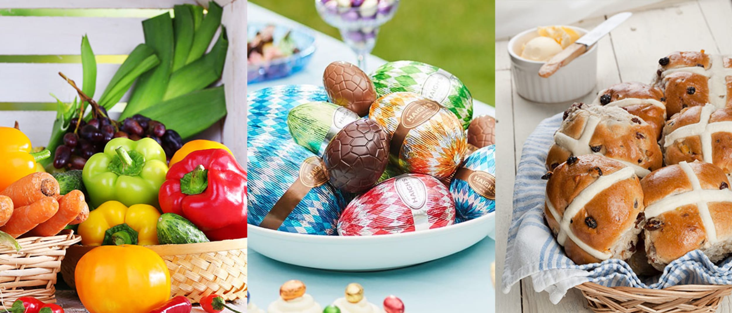 Build a Gourmet Easter Pack and receive a $20 Westfield Gift Card