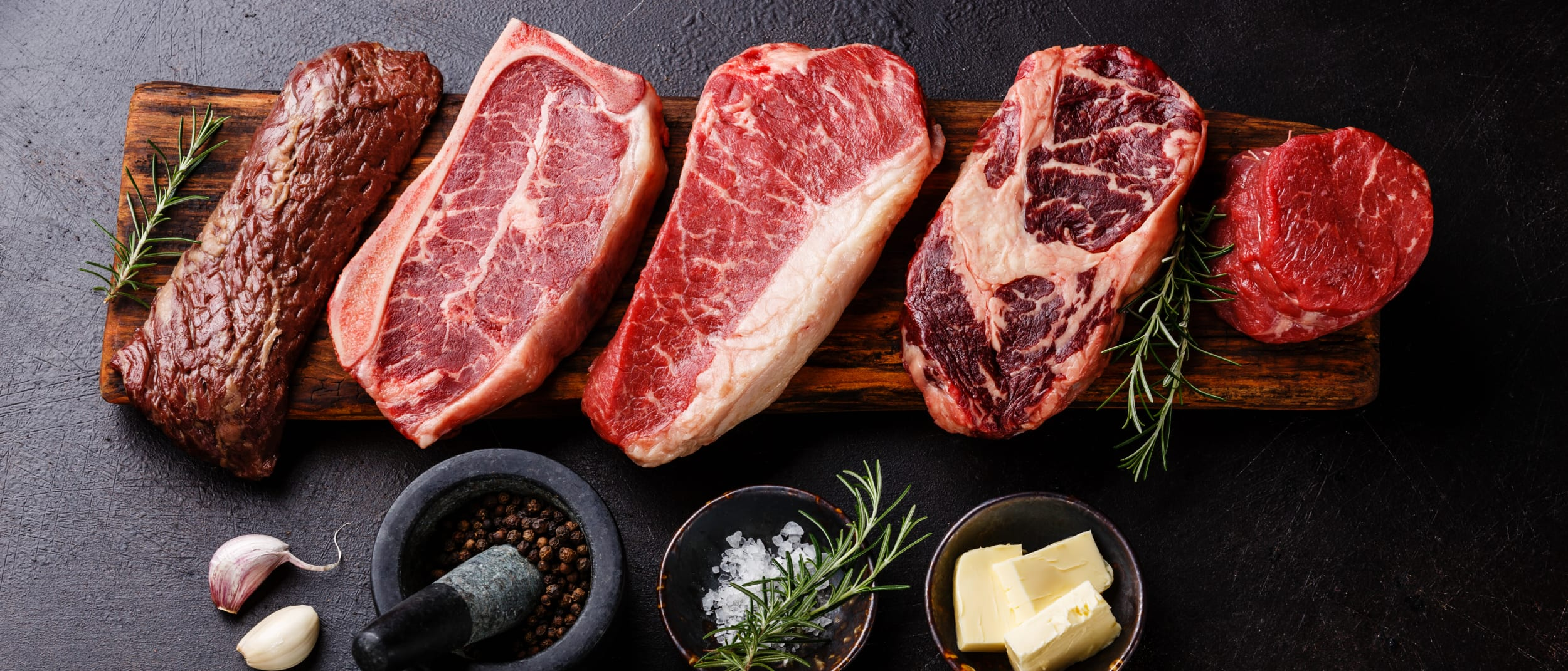 Our butcher's guide on choosing the perfect steak