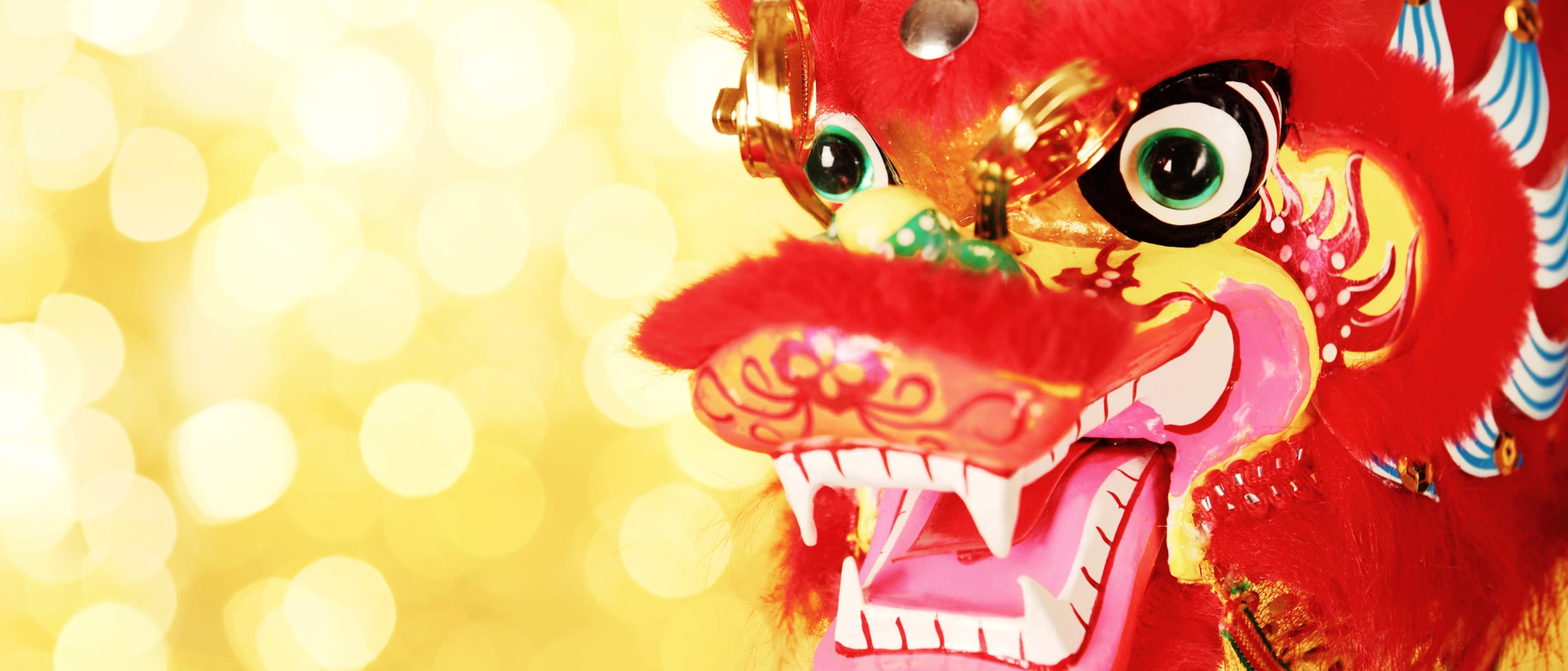The Lucky Lottery Centre: lion dance performance