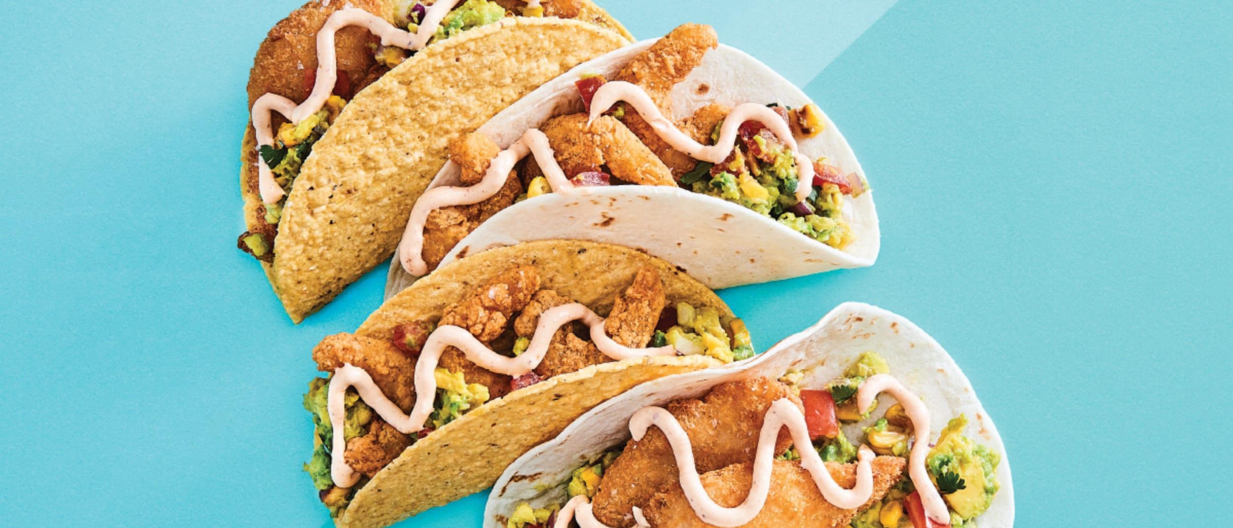 Salsa's Fresh Mex: Seafood Tacos