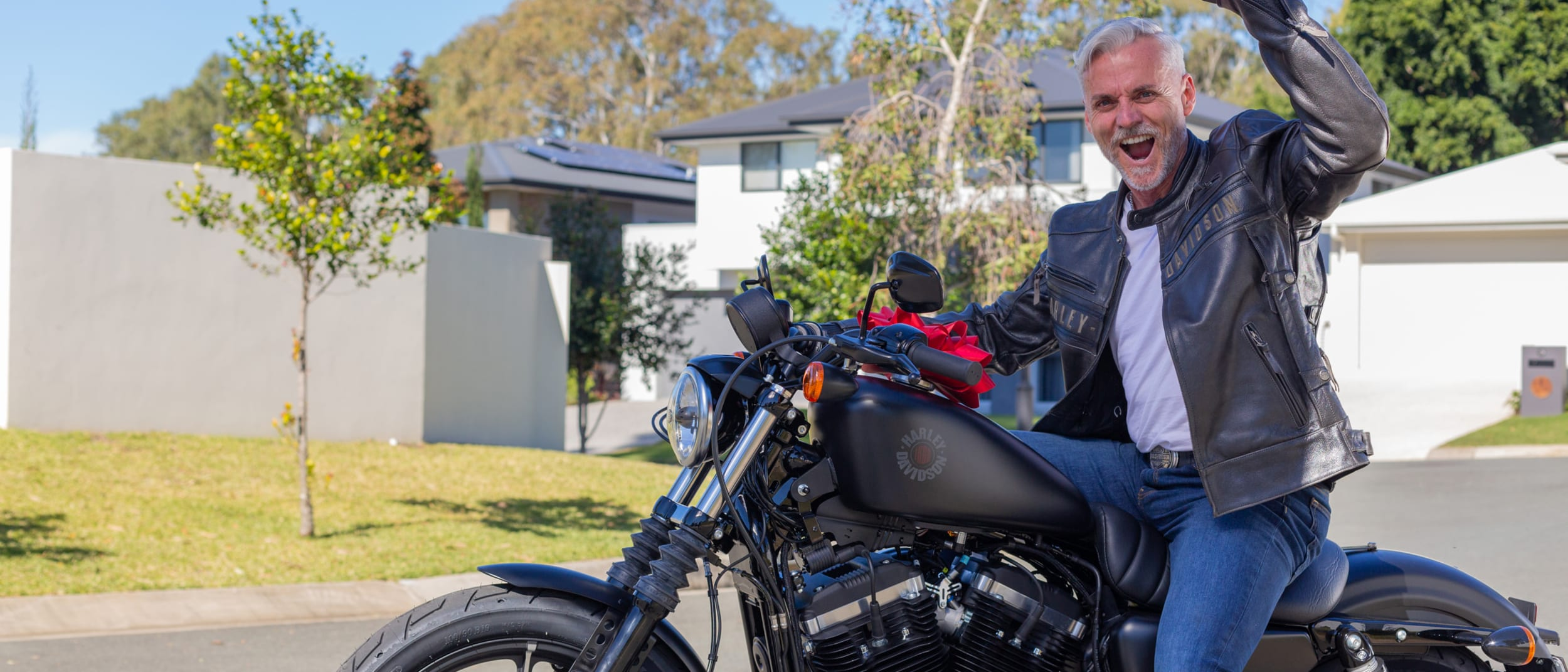 Tommy Gun's: win your dad a Harley-Davidson