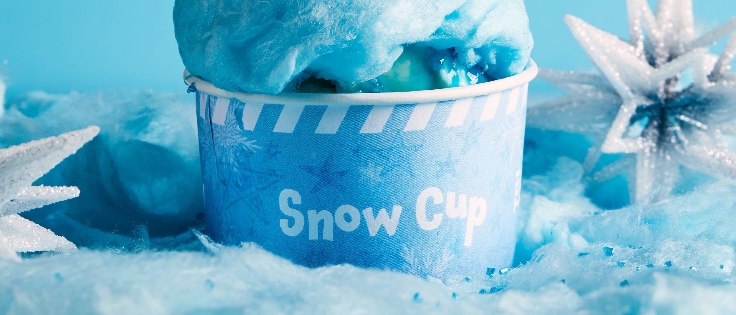 TGI Fridays: Frozen snow cup