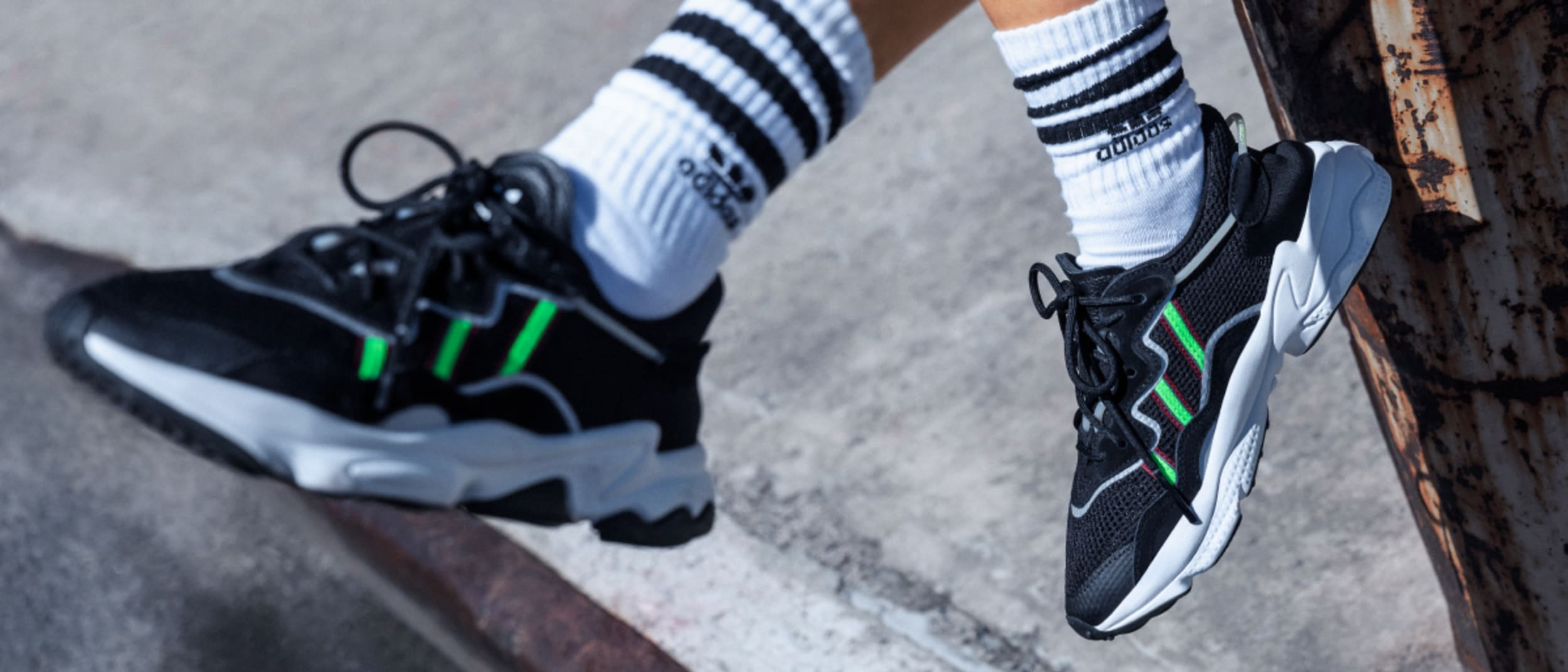 adidas Originals: new styles from OZWEEGO and LXCON concepts