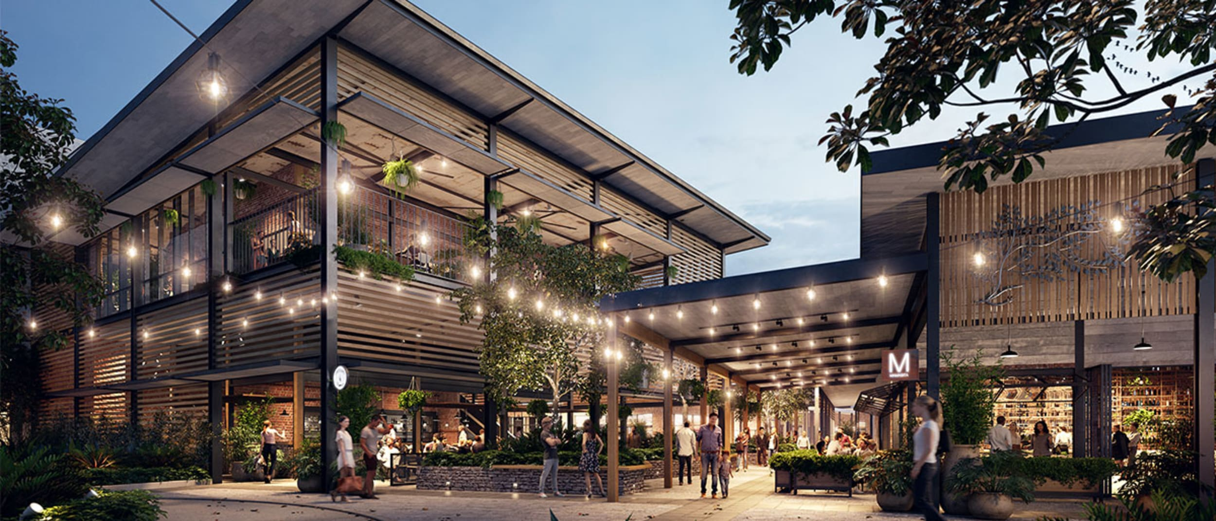 Your new dining, lifestyle and entertainment precinct