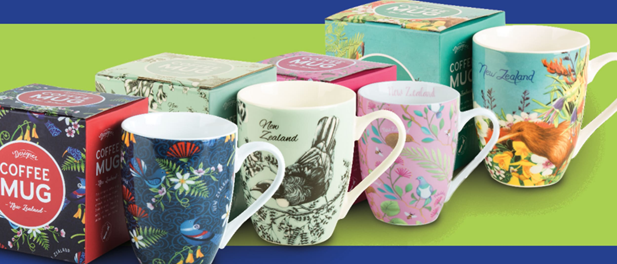 NZ The Gift: Free coffee mug when you spend $60*